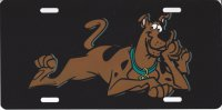 Scooby Doo Photo License Plate