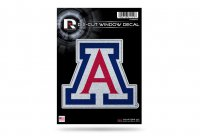 Arizona Wildcats Glitter Die Cut Vinyl Decal