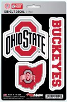Ohio State Buckeyes Team Decal Set