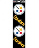 Pittsburgh Steelers Quad Decal Set