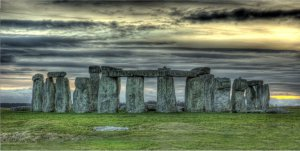 Stonehenge Photo License Plate