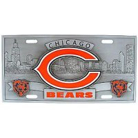Chicago Bears - 3D Collector License Plate