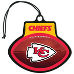 Kansas City Chiefs NFL Team Air Freshener