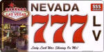 Design it Yourself Nevada 4 State Look ALike Bike Plate