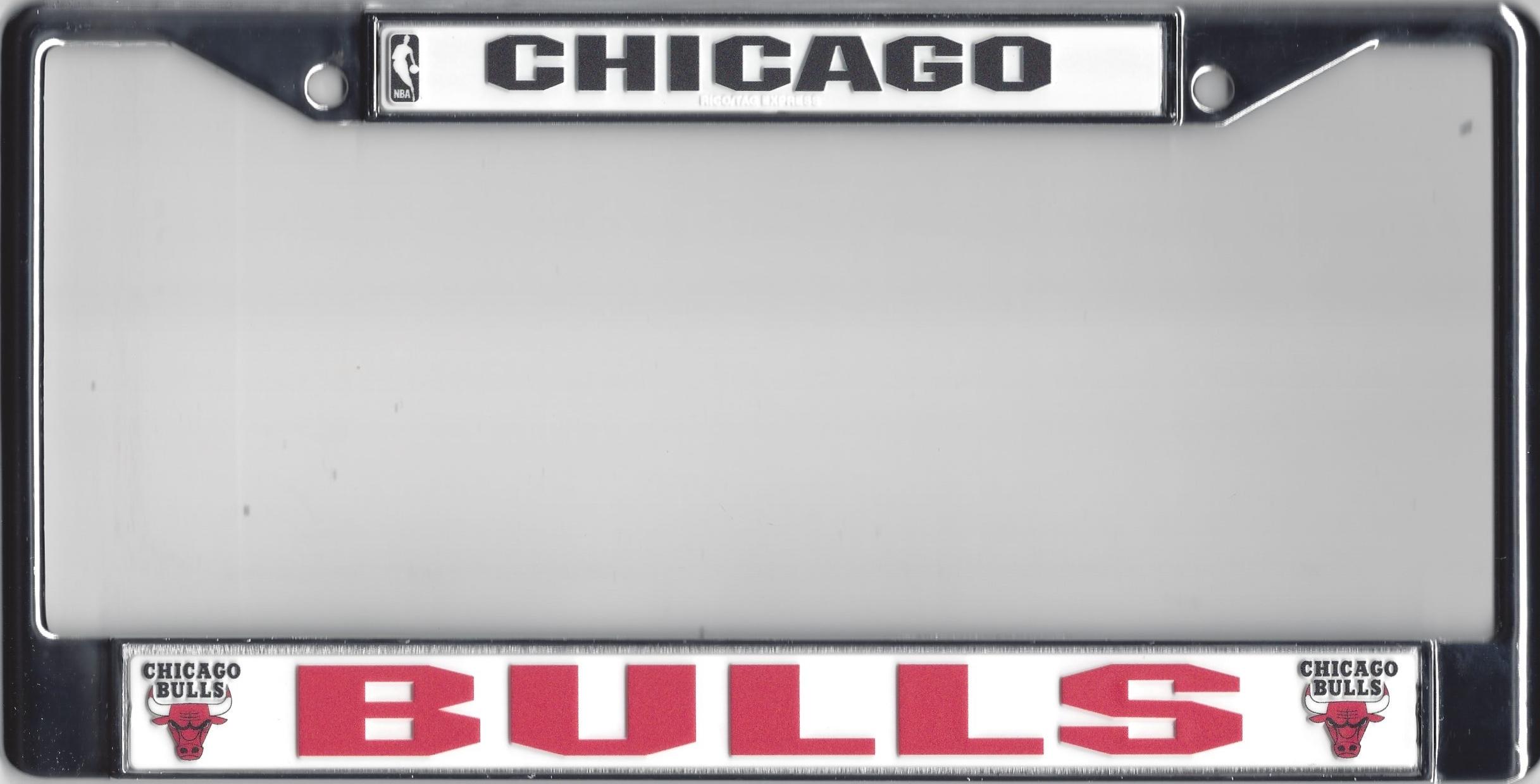 Chicago Bulls Chrome License Plate Frame [FC72001] - $16.99
