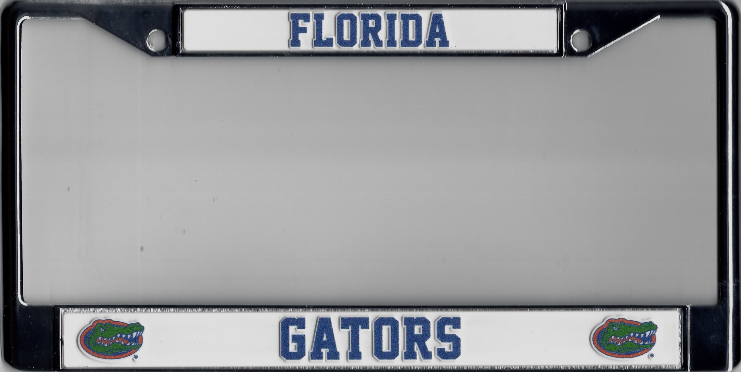 Florida Gators Chrome License Plate Frame Florida Gators Chrome ...