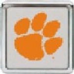 Clemson Die Cast Chrome College Hitch Cover