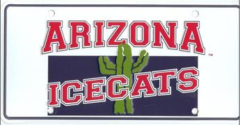 Sports Addicts Arizona Icecats Metal License Plate at Sears.com