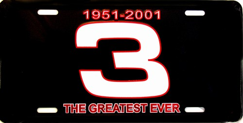 Rico Plates Dale Earnhardt 1951-2001 #3 Greatest License Plate at Sears.com