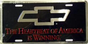 Dixie Heartbeat of America is Winning Chevrolet License Plate at Sears.com