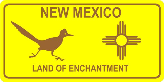 NEW Mexico Land Of Enchantment Photo License Plate