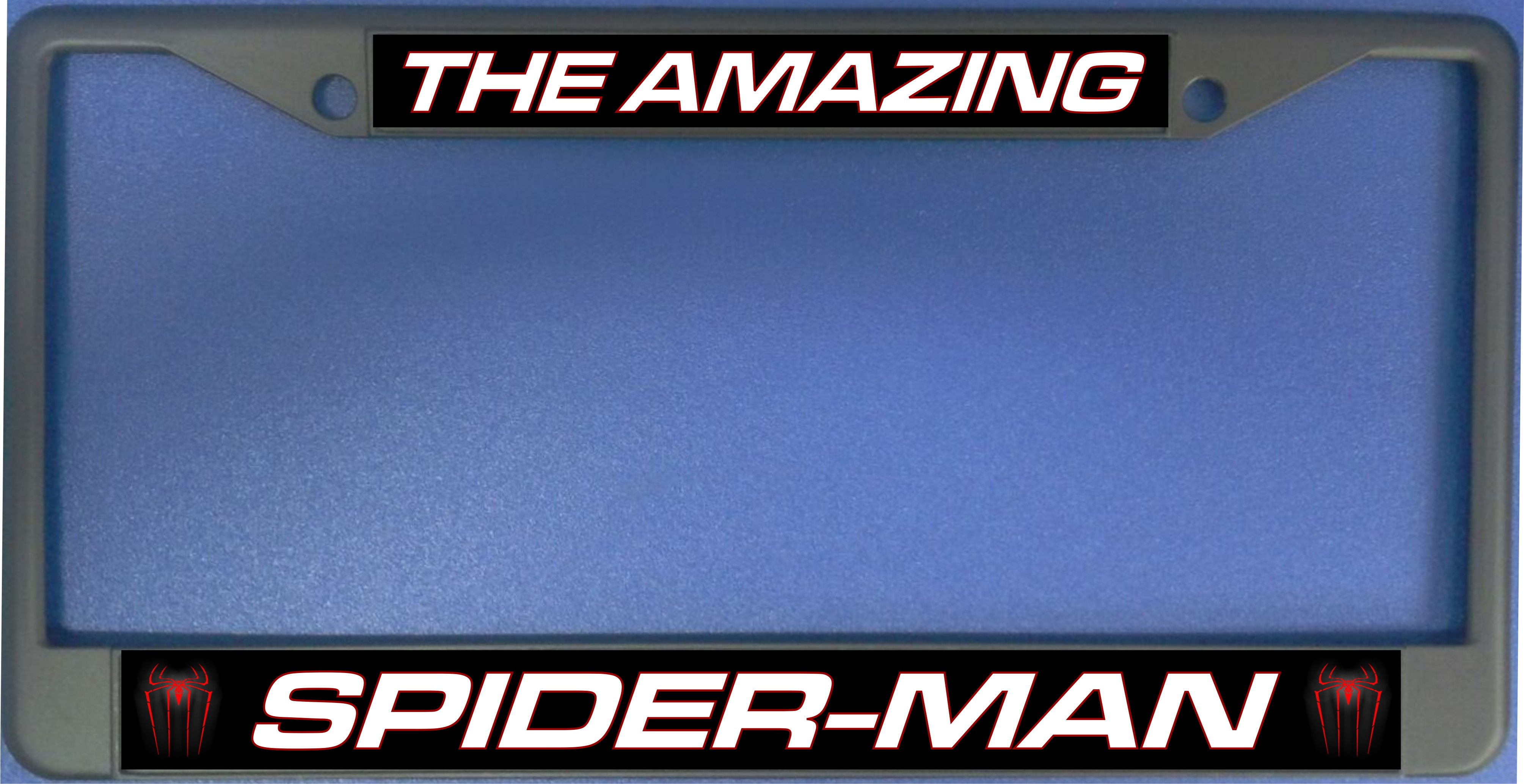 The Amazing Spiderman Photo License Plate Frame The Amazing Spider ...