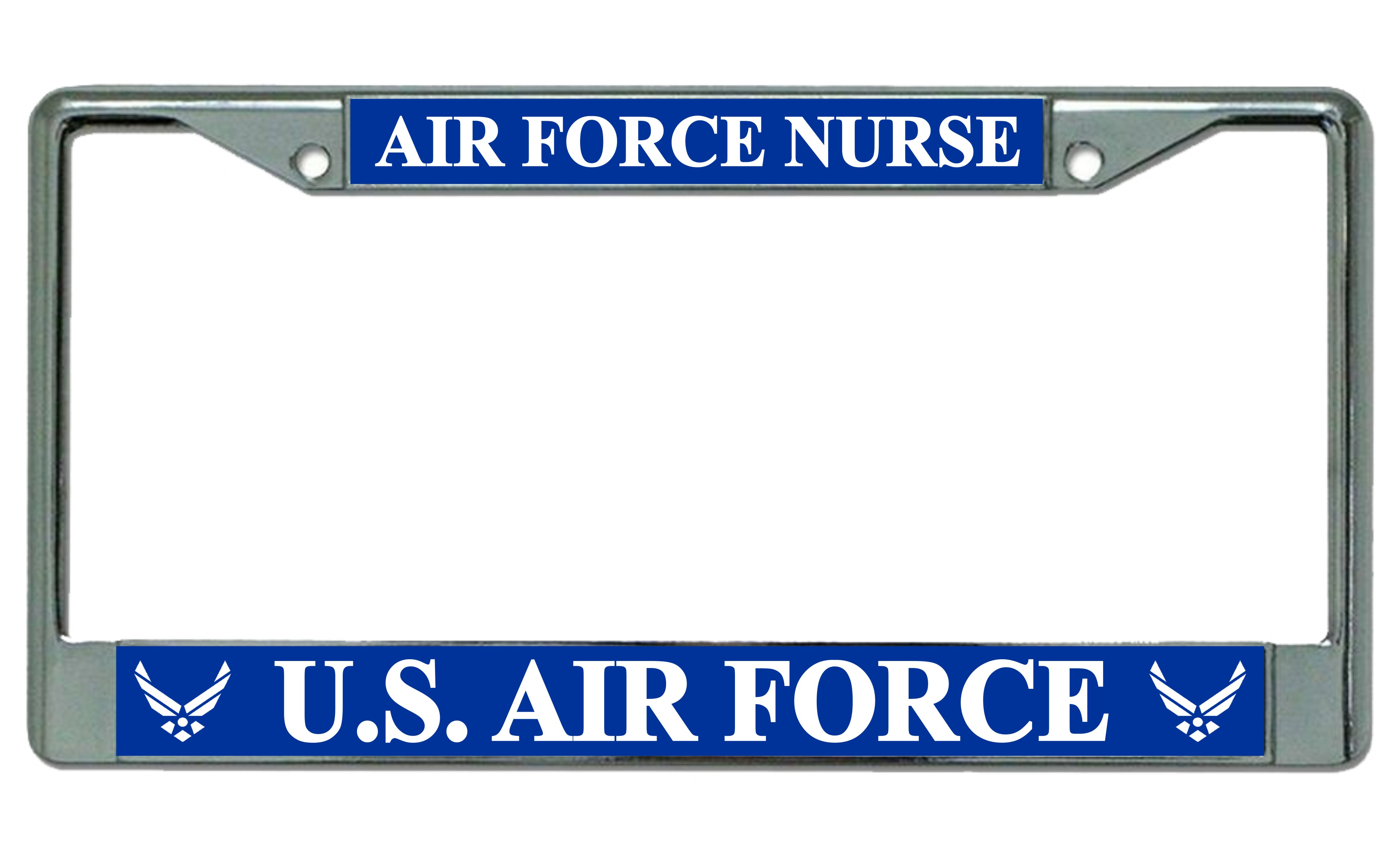 U.S. Air Force Nurse Photo License Plate Frame U.S. Air Force Nurse ...