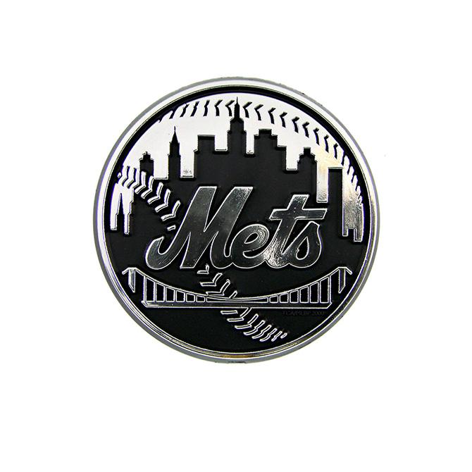 NEW York Mets MLB Auto Emblem