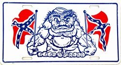 Dixie Rebel Monster License Plate at Sears.com