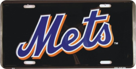 Dixie New York Mets (Black) License Plate at Sears.com
