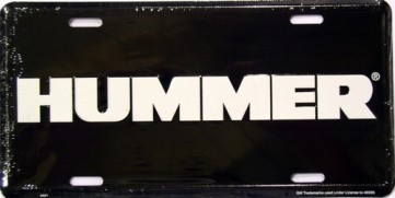 Dixie Hummer Black License Plate at Sears.com