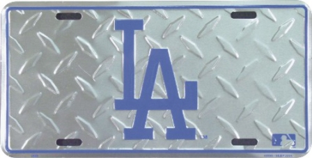 Dixie Los Angeles Dodgers Diamond License Plate at Sears.com
