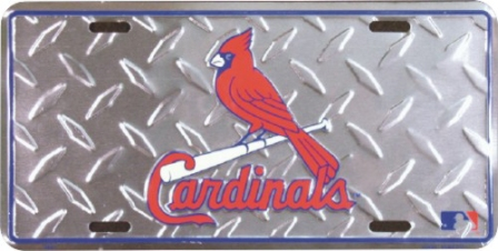 Dixie St. Louis Cardinals Diamond License Plate at Sears.com