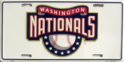 Dixie Washington Nationals License Plate at Sears.com