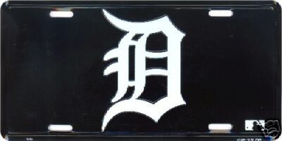 Sports Addicts Detroit Tigers D License Plate at Sears.com