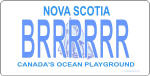 Design It Yourself Nova Scotia Bicycle Plate